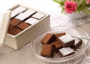 バレンタイン生チョコレート
