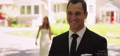 愛する人の花嫁姿を初めて見た時の新郎の幸せすぎる表情2