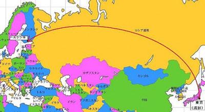 日本からフィンランドまで