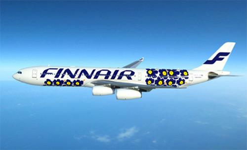 フィンランドまでの飛行機