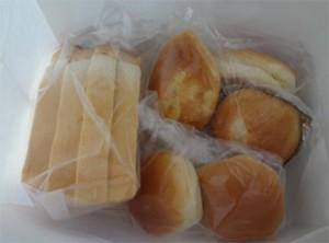 別府温泉のパン