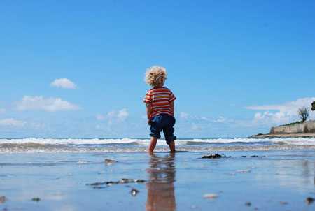 子供の夏休み