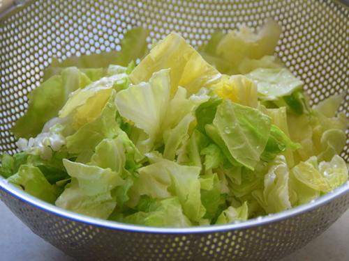 春キャベツの野菜たっぷりパスタ㈪