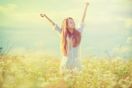 29388834 - beauty girl outdoors enjoying nature