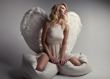 19655583 - beautiful blonde angel