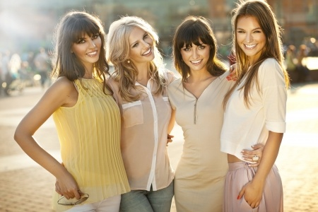 15865913 - a group of woman smiling