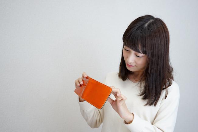 財布, 支払, 女性