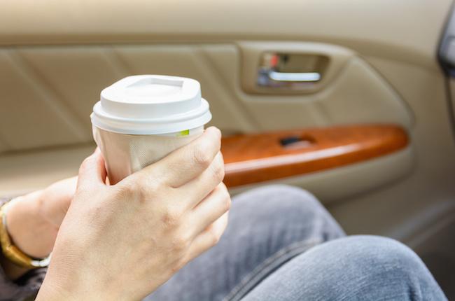 ドライブ, ドライブデート, コーヒー, 飲み物,