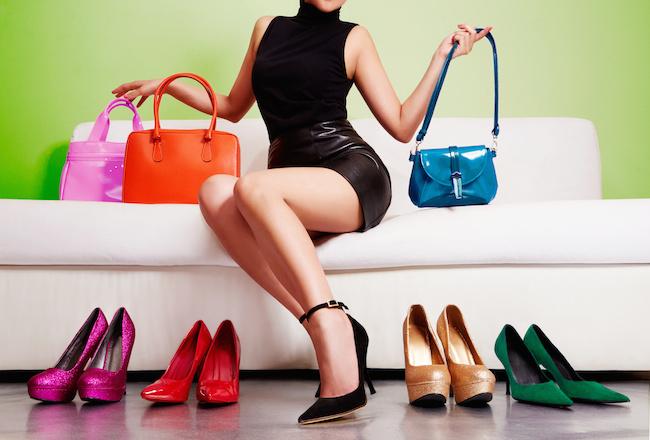 女性, NGファッション, 男性にひかれる,ブランド靴, ブランドバッグ,