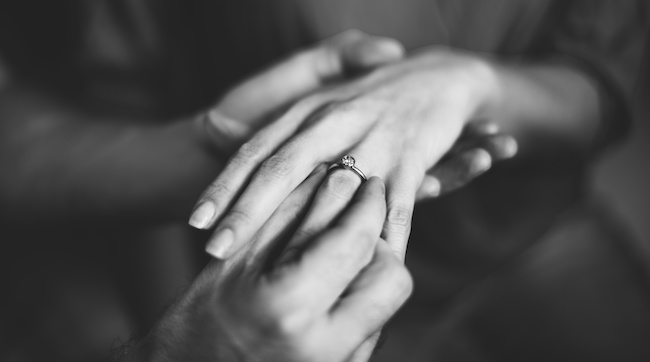 プロポーズの気配