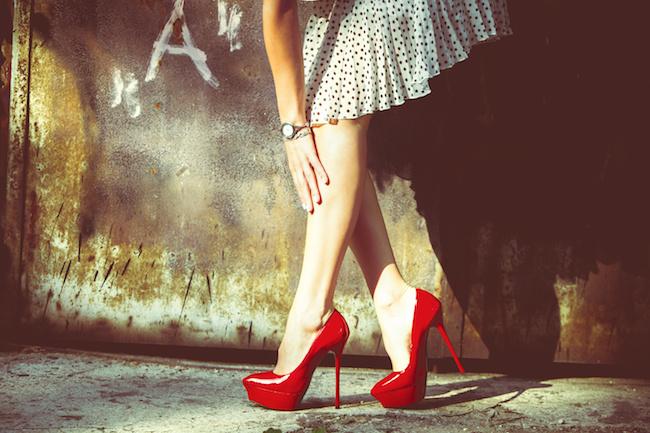 デートのときの靴