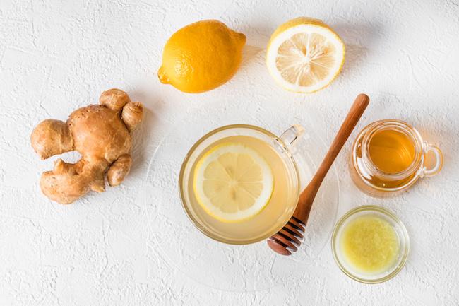 水分補給,生姜汁,白湯,レモン