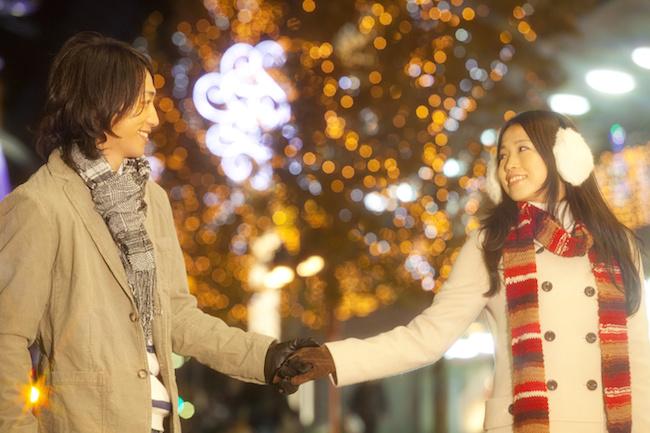 冬, お正月, デート, イルミネーション,