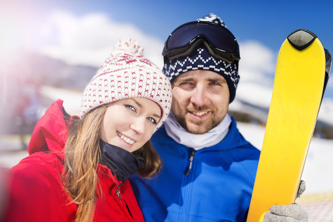 ゲレンデでの恋に憧れる!スキー場で出会う方法とは?