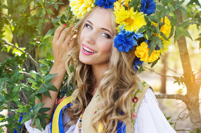 美人が多い国「ウクライナ」。美人が生まれる秘訣とは?