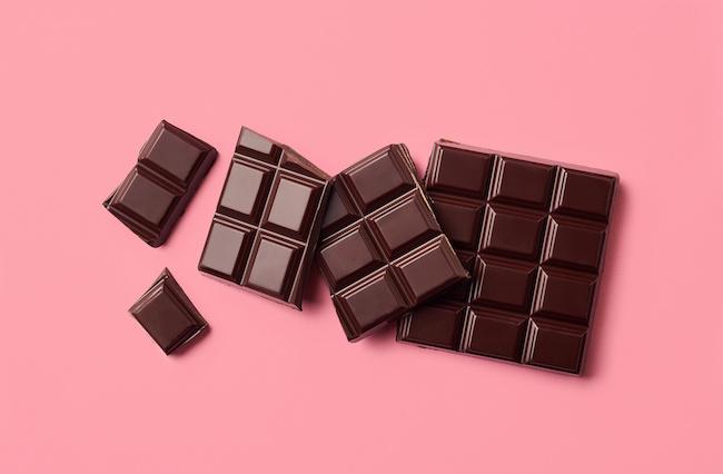 市販のチョコは砂糖が多い