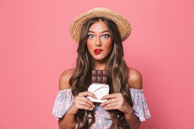 チョコの食べ過ぎに注意