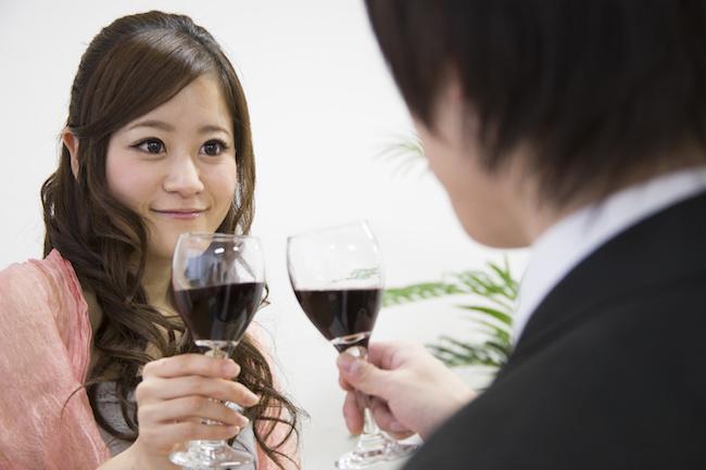 飲み会の席で男性をドキッとさせる一言1画像