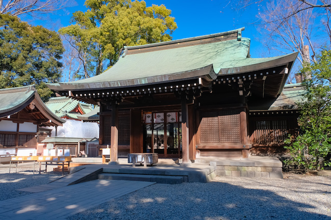 川越氷川神社 拝殿
