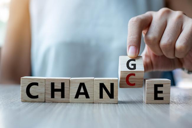 人生に置ける本当の変化