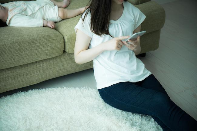 シングルマザーが恋愛と育児を両立