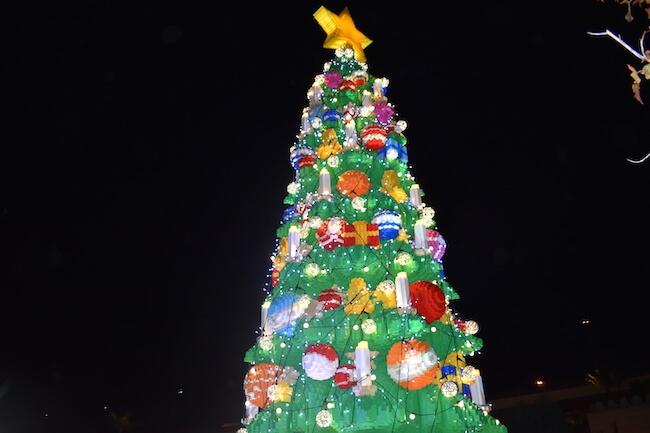 レゴランドジャパンのクリスマスイベント「ブリック・クリスマス」1画像