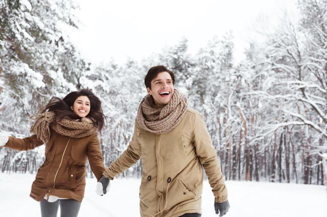 雪の季節!外は冷えても2人の仲は温まる雪の絶景デートスポット5選!